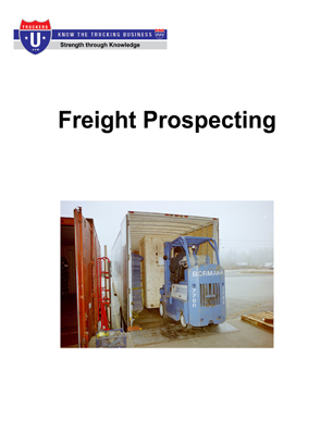 Freight Prospecting Cover